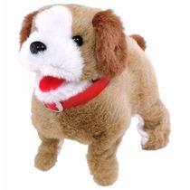 Cachorrinho Pelucia Puppy Anda Late Cambalhotas Cachorro