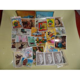 Lote De Selos Internacional Variados Raridades