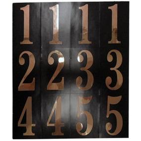 Números Negro Con Oro 2 Pulgadas Hy-ko