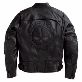 Jaqueta Couro Harley Davidson Skull