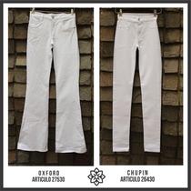 Chupin / Calza Nahana Jeans Talle 44 Extra Elastizado