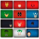 Placas Decorativas Posters Super Herois Marvel Dc Promoção