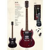 Guitarra Electrica Sg - Sx Pack Completisimo !!!!