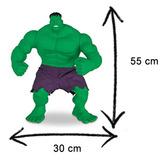Boneco Menino Hulk Marvel Verde Filme 2015 Os Vingadores