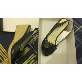 Zapatos Taco Chino De Cuero