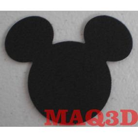 Aplique Eva Mickey / Minnie Ratinho 2,5cm Com 100 Unidades