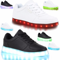 Tenis Led-luminosos Modelo 2015 Unisex