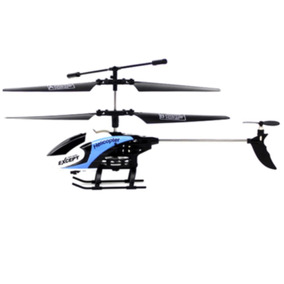 Helicoptero Control Remoto Azul Dron