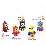 Memorias Usb Minions Super Heroes -muy Encantadores- (16gb)