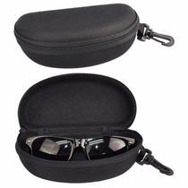 Porta Óculos Estojo Case Proteção P/ Óculos Universal Preta