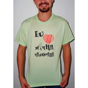 Camiseta Personalizada Amo Minha Namorada