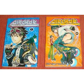 Livros Mangá Air Gear Volumes 1 E 2 ( Inglês )