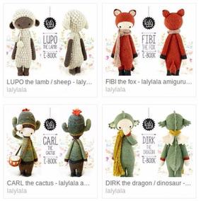 5 Patrones Lalylala A Elección En Oferta! Amigurumis Crochet