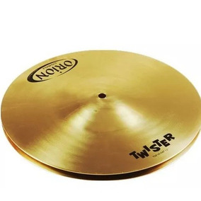 Prato Para Bateria Orion Chimbal Hi Hat 13 Twister Tw13hh