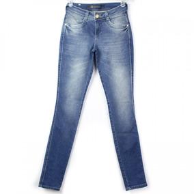 Calça Jeans Feminina Ana Hickmann Skinny Low Ah1024