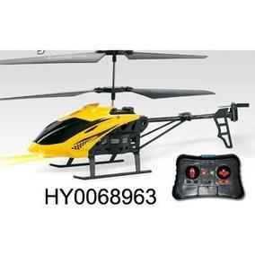 Mini Helicoptero 3.5ch Com Gyro Controle Voa Dentro De Casa