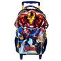 Mochila Infantil Avengers Xeryus 6270 - Azul/amarelo