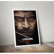 Poster Logan Enmarcado De Lujo 70x100cm Envio Gratis
