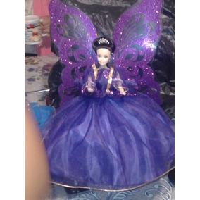 Barbie Hadas Con Alas Color Azul O Varios Colores