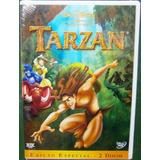Dvd Tarzan 1 Disney Original Lacrado Edição Especial Duplo