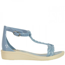 Sandália Infantil Grendene Frozen C/ Bolsa Snow Fashion Bag