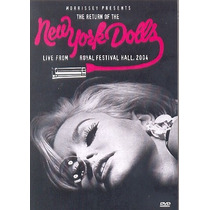 New York Dolls Live From Royal Festival Hall 2004[dvd Novo D