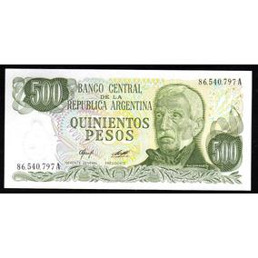 Billete 500 Pesos Ley Bottero 2423 Serie A Sin Circular