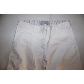 Pantalon Mujer De Vestir Blanco Lemon Talle Xs S Divino