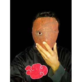 Mascara De Tobi Akatsuki De Excelente Material!!!
