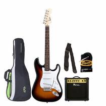 Combo Guitarra Eléctrica Squier By Fender + Amplificador 15w