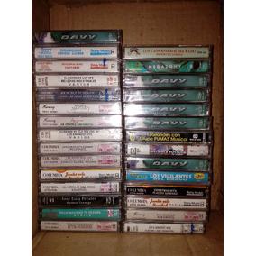 Kct Cassette Cerrado Lote Completo Varios Artistas 28 Pzas.