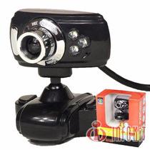 Eyecam Webcam Com Microfone - Meteoro N-200mv Diversas Cores