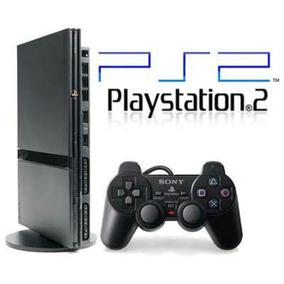 Playstation 2 Desbloqueado+ Memory Card 1 Controle E Brindes