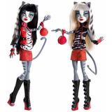 Monster High Meowlody E Purrsephone Sister - 2011 Mattel