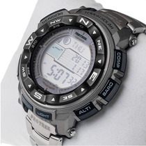 Reloj Casio Protrek Prw2500t-7 Titanio Solar Atómico Wr200m