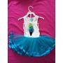 Vestido Mud Pie Barquilla - Tutu Azul (0 - 6 Meses)