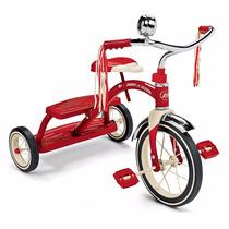Triciclo Velocípede Infantil Radio Flyer Vermelho Ou Rosa