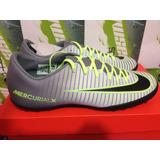 Tenis Nike Mercurial Victory Cr7 100%original Turf Gris 28cm