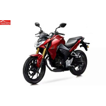 Moto Honda Cb190r Año 2016 Negro, Rojo