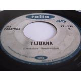 Los Fannings Tijuana / Nacida Libre 45rpm Rock Garage Peru