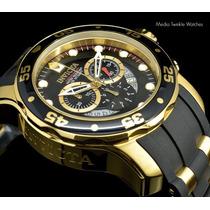 Reloj Invicta Hombre-modelo 6981 (enchapado En Oro De 18 K)