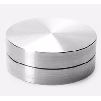 Base Giratória Em Alumínio P/ Tampo De Vidro (p/ Colar)