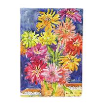 Flores Margaritas Bandera Lienzo Tamaño De La Casa