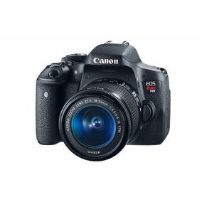 Cámara Canon Eos Rebel T6i Ef-s 18-55mm Reacondicionada
