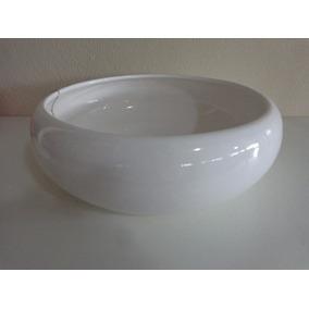 Vaso Centro De Mesa Cachepot Cerâmica Esmaltada 30cm Enfeite