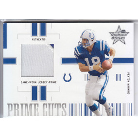 2004 Rs Prime Cuts 2color Patch Peyton Manning 3/25 Colts
