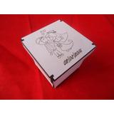 Caixinha 5x5x5 Branca/crú Com Gravação