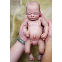 Bebe Reborn Recem Nascido Corpo De Silicone Menina