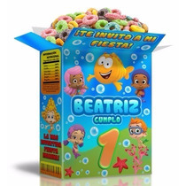 2x1 Mega Kit Imprimible Fiesta Infantil Bubble Guppies Invit