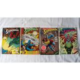 4 Comics De Superman Editorial Vid 1991 1992 Mexico